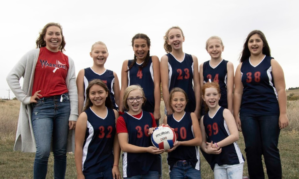 Junior High RED Volleyball 2020