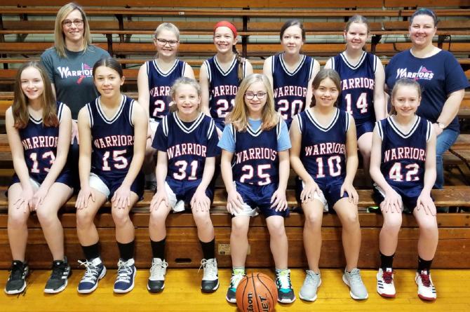 Junior High Basketball 2020-21